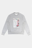 PATROL CALL CREWNECK - GREY MIX