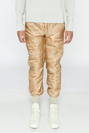 QUILTED LINER PANT - COYOTE