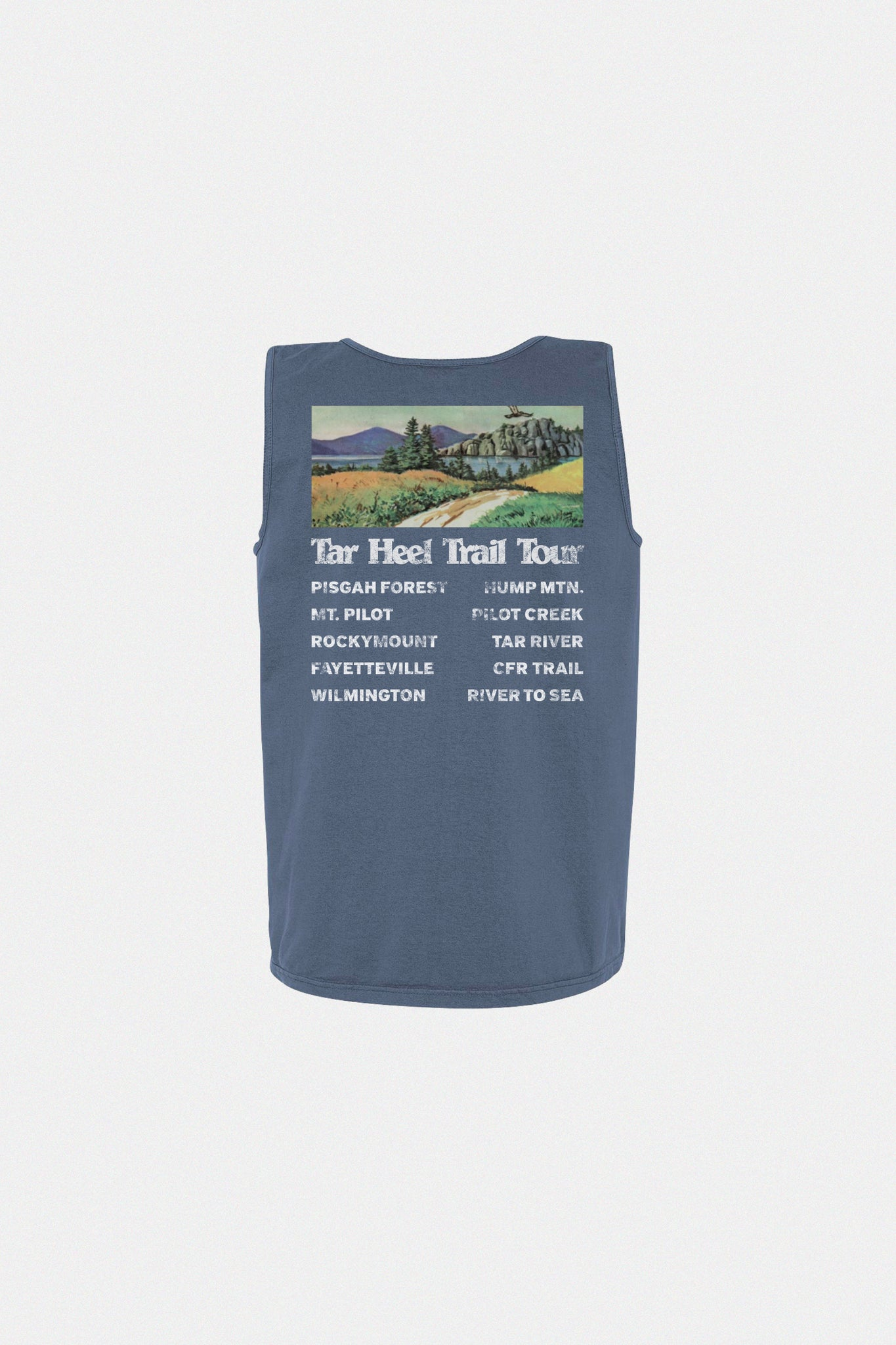 Trail Tour Tank - Navy