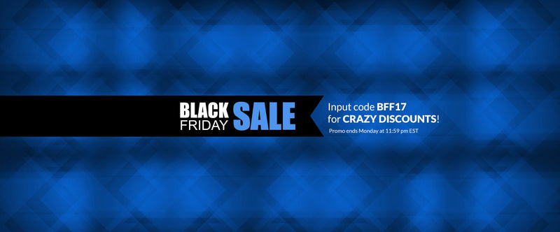 Our Black Friday holiday sale is here!