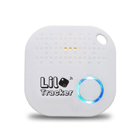 Key Finder,Bluetooth Key Locator with App Control,Mini Wireless Tracking GPS Locator,Item Finder for Keys,Phones,Wallet Doll,White