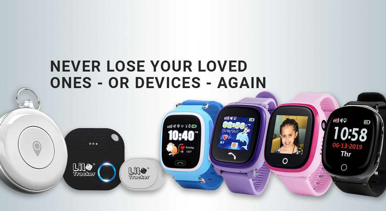 Kids GPS Tracking Device, GPS Smart Watch Tracker | Lil Tracker