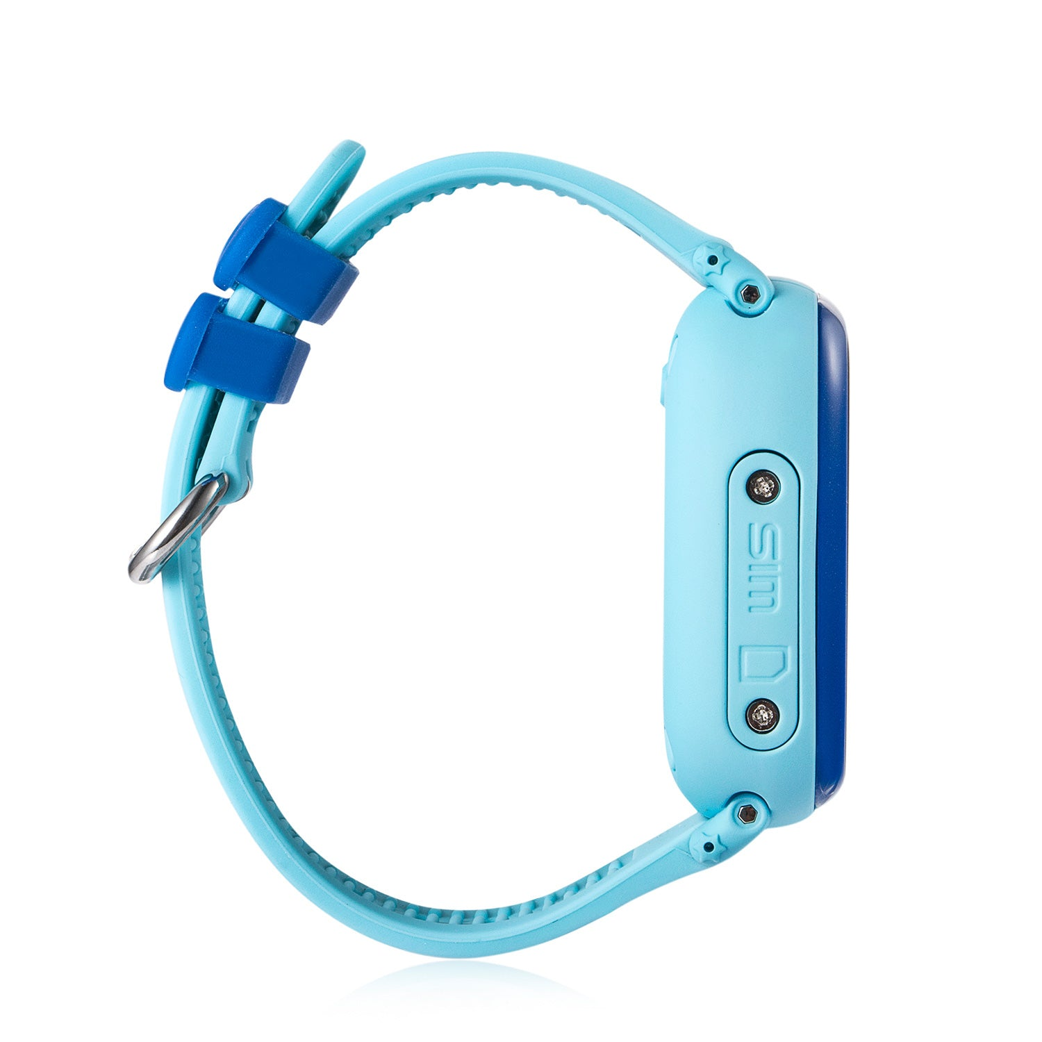 Side of Waterproof Kids GPS Tracker Watch