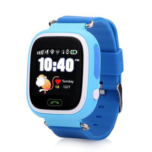 Blue 12 Hour Kids GPS Tracker Watch