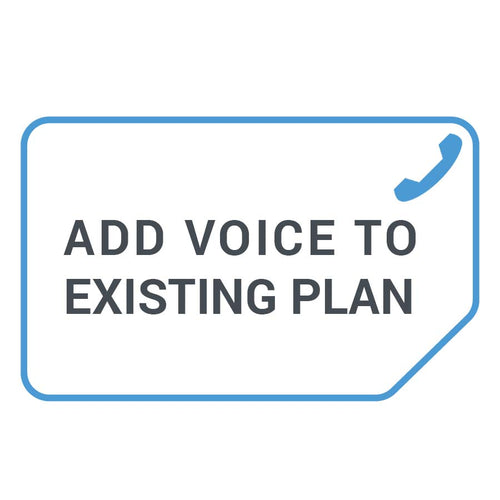 Add Voice to Existing Data Plans