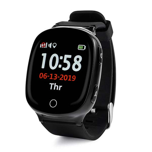 2G Senior GPS Tracker Watch<br>(24-Hour Time Format)