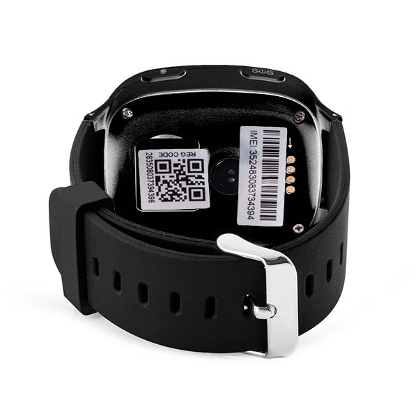 GPS Tracking Watch for Seniors<br>(24-Hour Time Format)