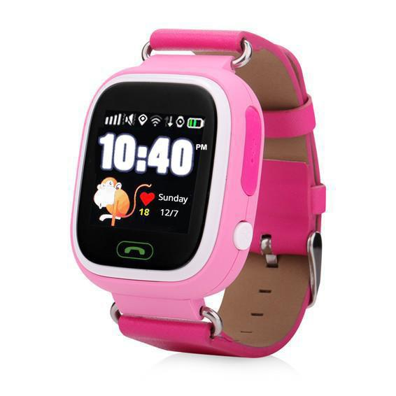 Pink 12 Hour Kids GPS Tracker Watch