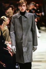 Raf Simons AW98 Wool Mac Coat