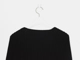 Helmut Lang 00s Ribbed Sweater