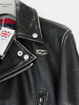 Comme des Garçons x Lewis Leathers Live Free Die Strong Lightning Rider