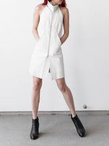 Rick Owens AW09 Leather Halter Dress Vest