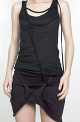 Helmut Lang SS04 Dragonfly Raw Strap Tank