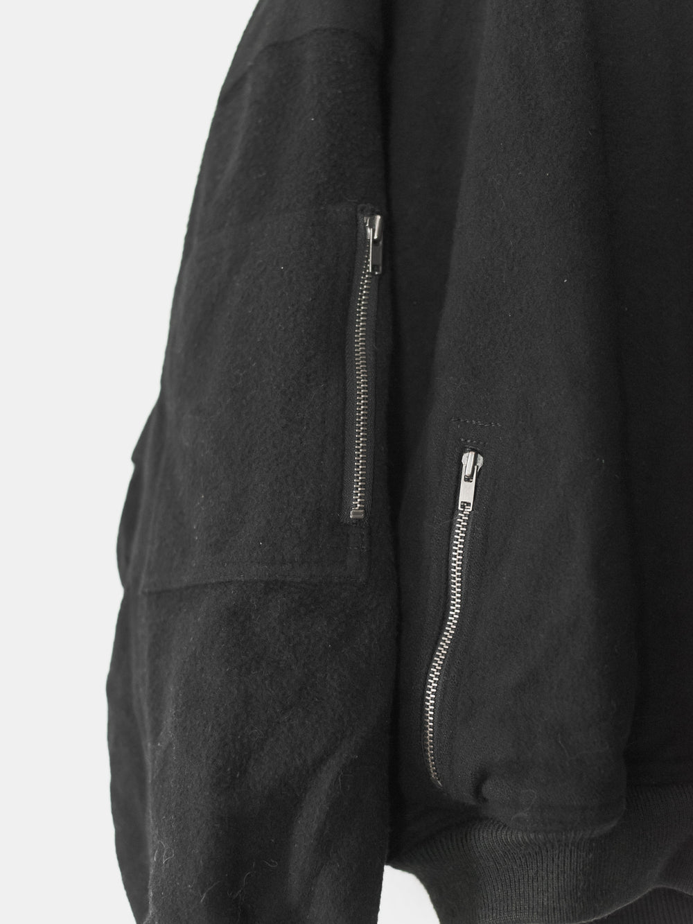 Issey Miyake Issey Sport Wool MA-1 Bomber