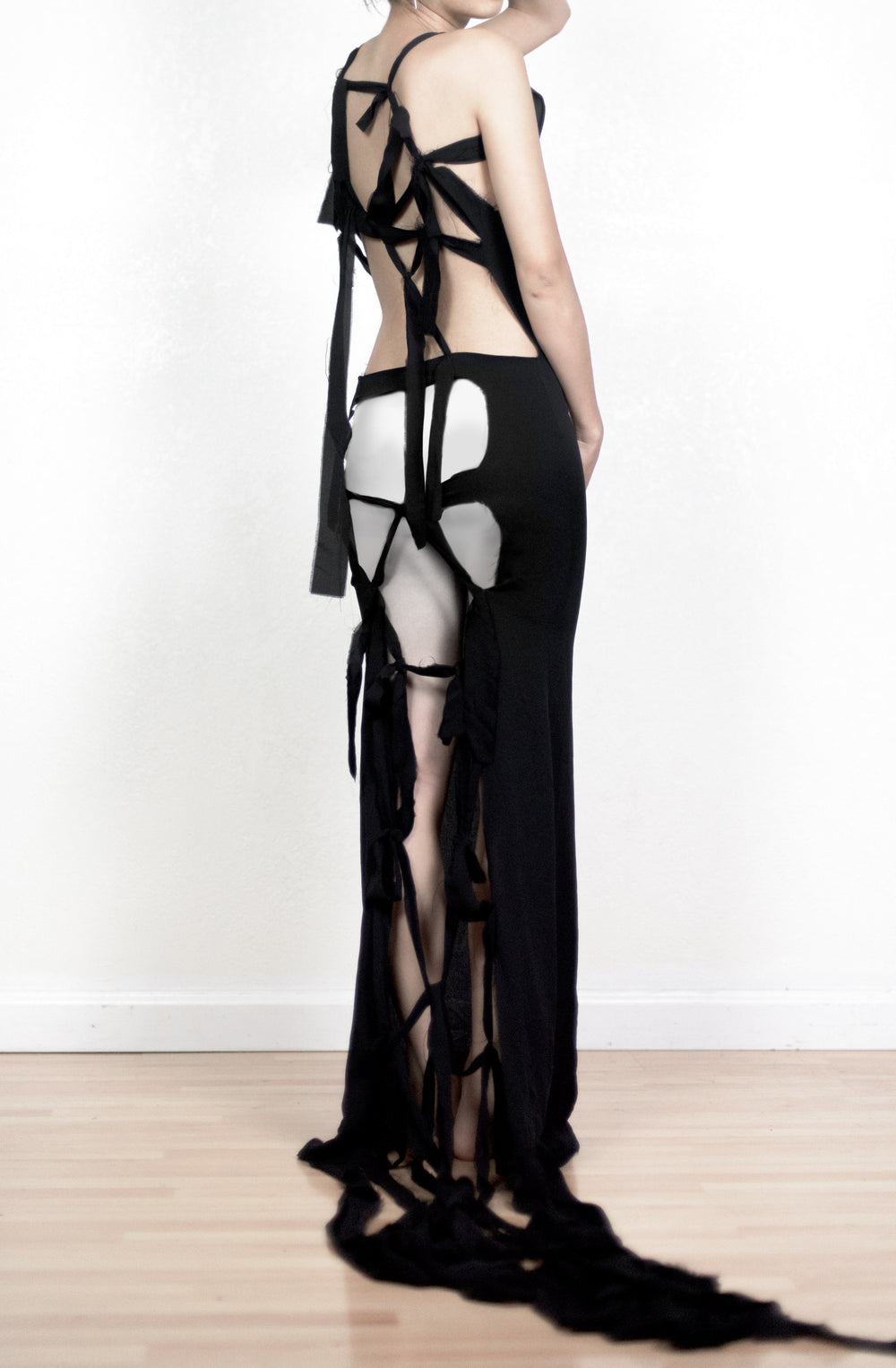 Maison Martin Margiela SS10 Deconstructed Net Dress