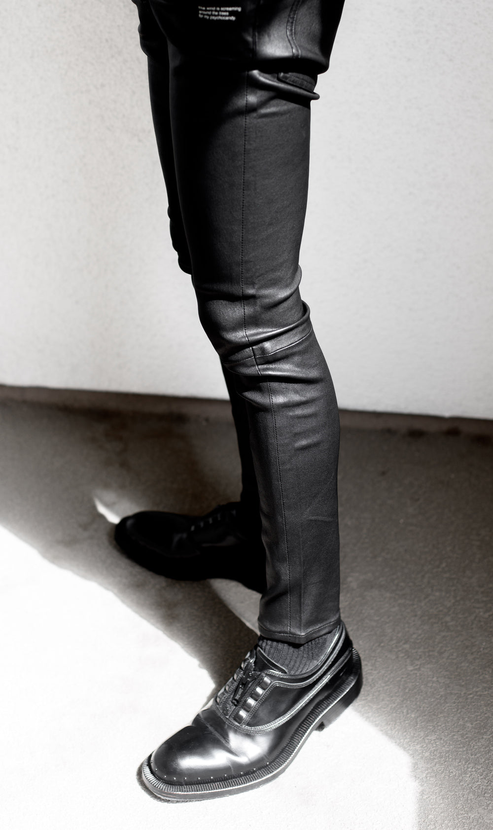 Undercover SS14 Psychocandy Lamb Leather Pants