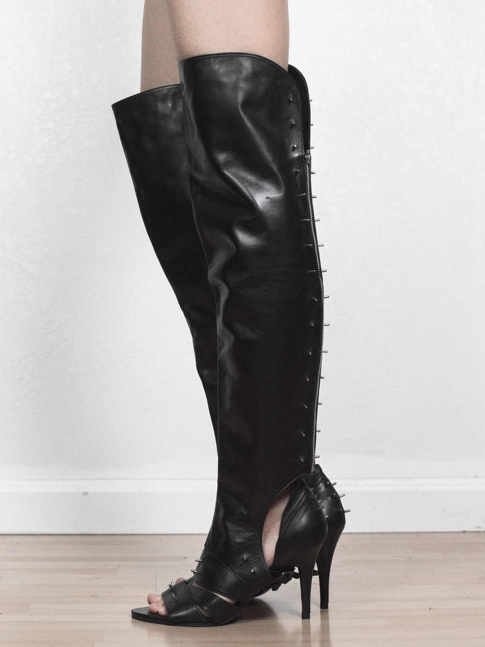 Undercover SS06 Heels with Chaps