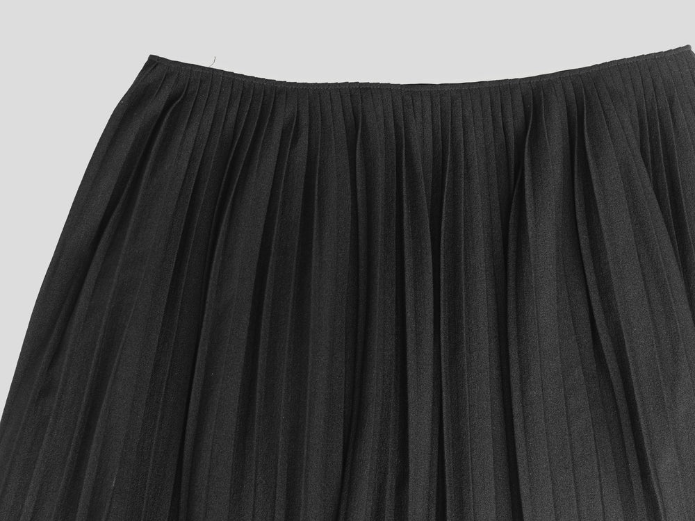 Helmut Lang 00s Pleated Wrap Skirt