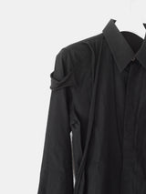 Helmut Lang SS04 Dragonfly Raw Strap Button Shirt