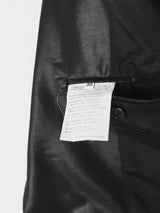 Helmut Lang SS05 Liquid Resin Coated Wool Suit & Skirt