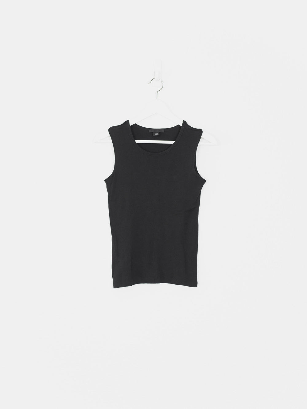 Helmut Lang 00s Open Shoulder Top