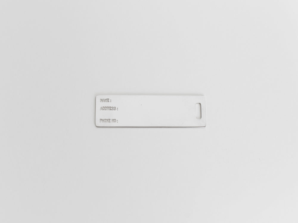 Helmut Lang Keychain Luggage Tag