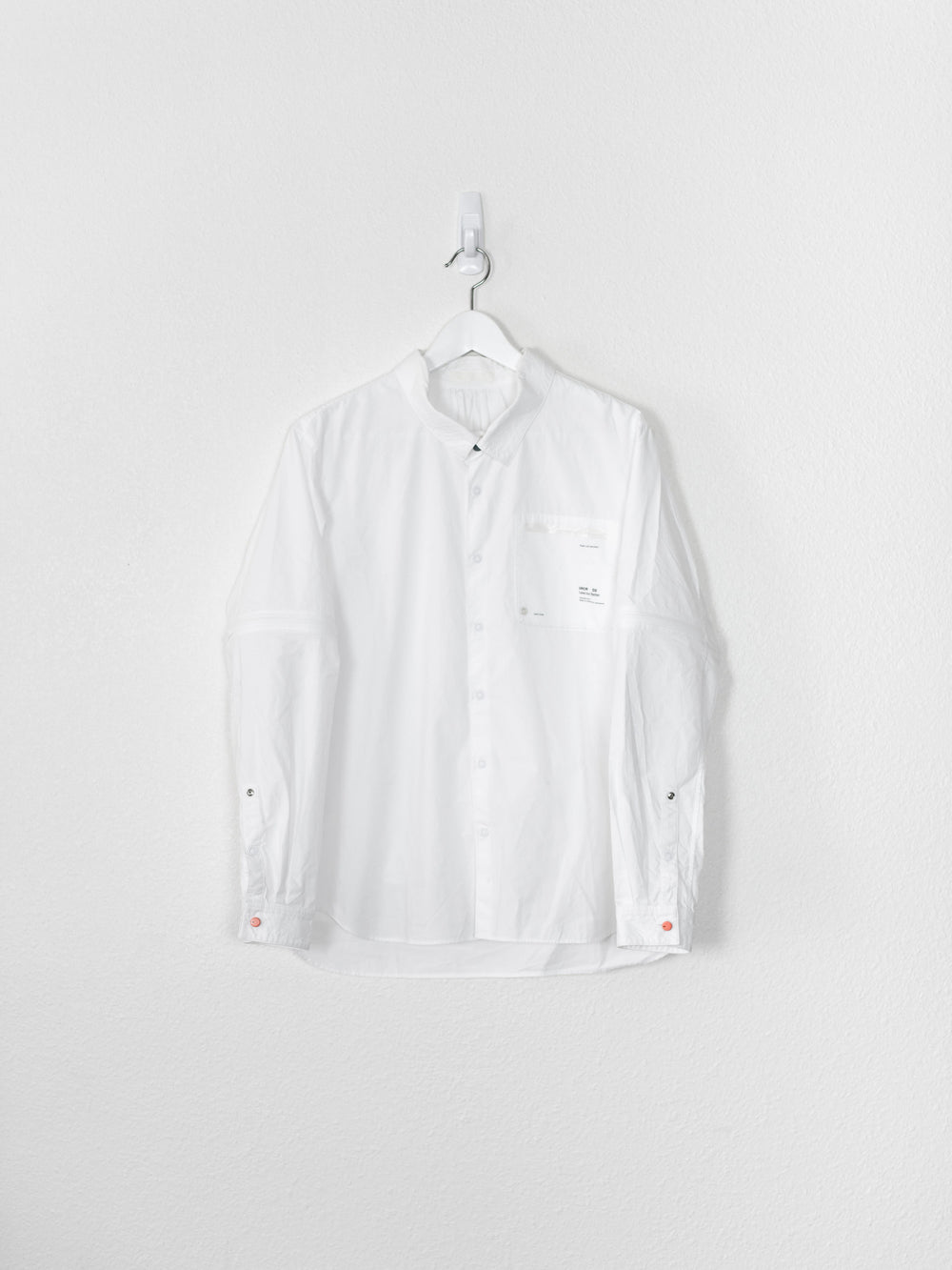 Undercover SS10 Less But Better Convertible Sleeve Shirt