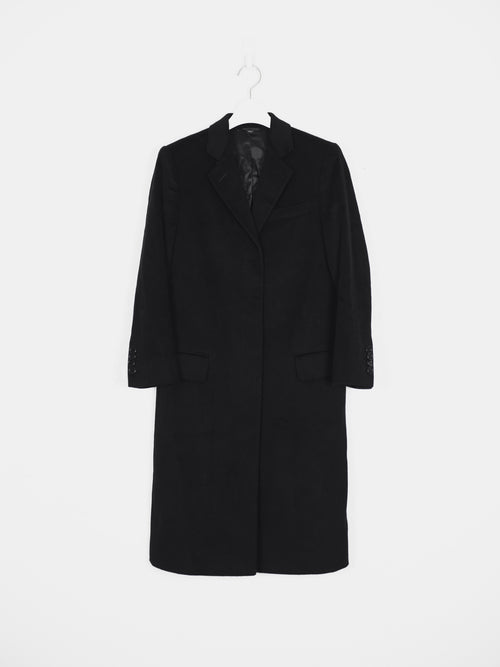 Helmut Lang 00s Wool Chester Coat