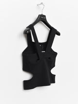 Helmut Lang AW03 Cross Strap Top
