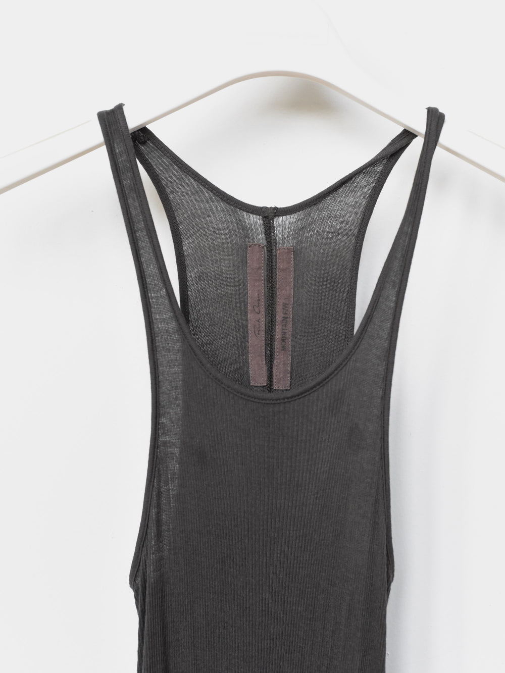 Rick Owens AW12 Ribbed Tank Dress