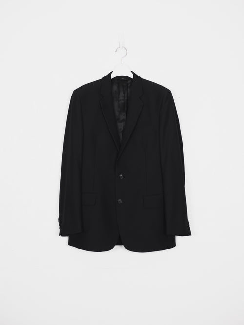 Helmut Lang 00s Classic Wool Suit Set