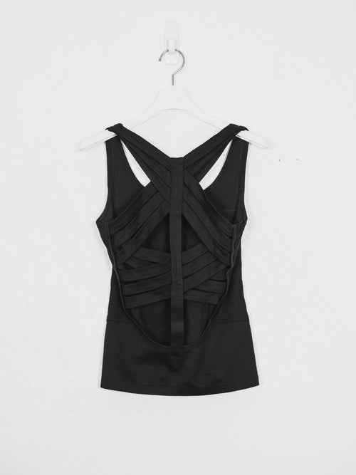 Helmut Lang SS01 Cross Strap Bandage Top