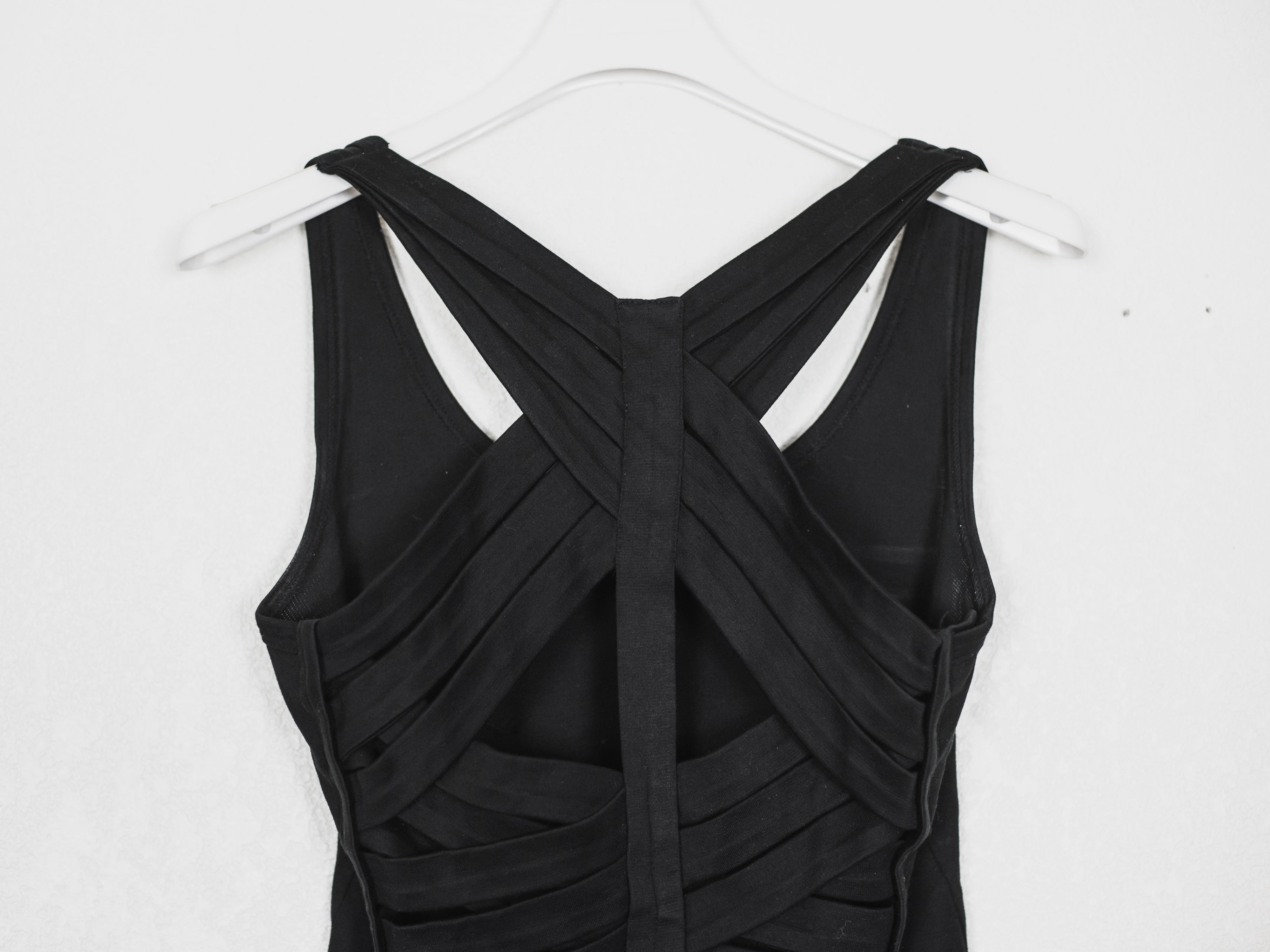 Helmut Lang SS01 Cross Strap Bandage Top Sample
