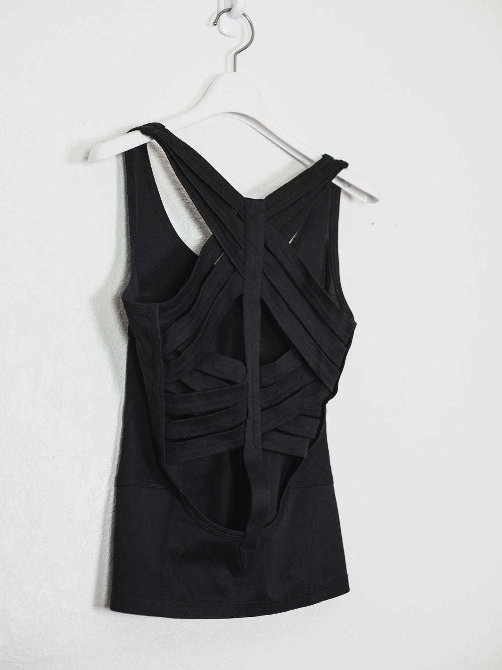 Helmut Lang SS01 Cross Strap Bound Top Sample