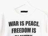 Undercover 1984 War is Peace Tee