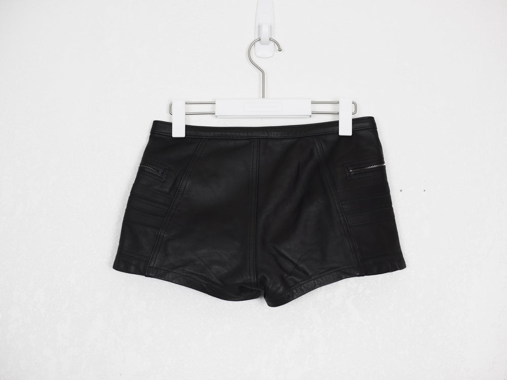 Blackmeans Calf Leather Shorts