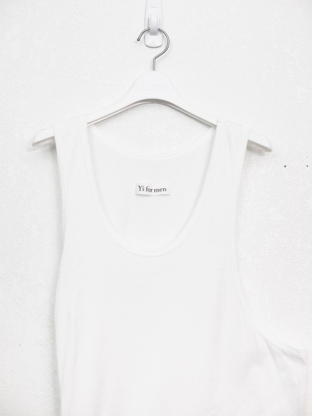 Yohji Yamamoto Y's For Men Side Lace Tank Top