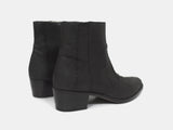 Helmut Lang 00s Perch Leather Cuban Heel Boots