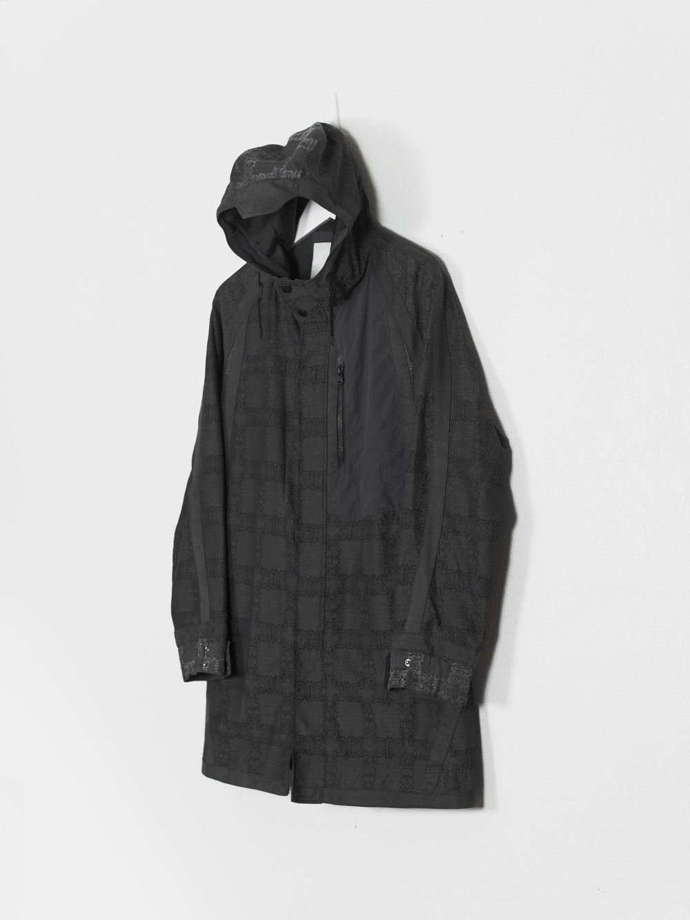 White Mountaineering SS12 Jacquard Fishtail Parka