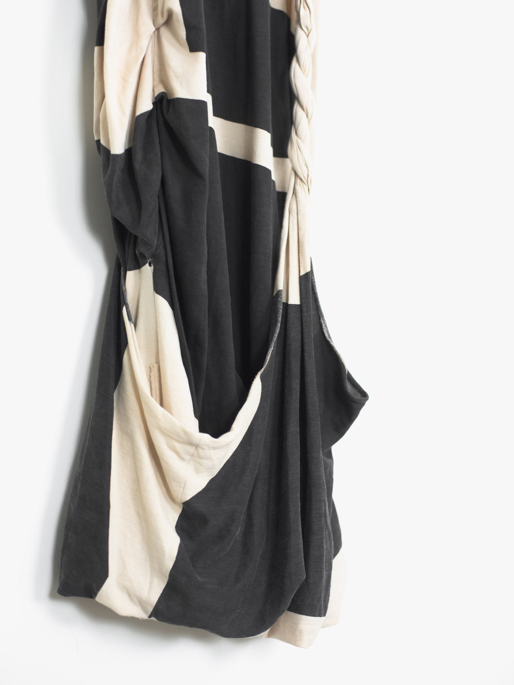 Helmut Lang SS05 Asymmetric Twisted Dress