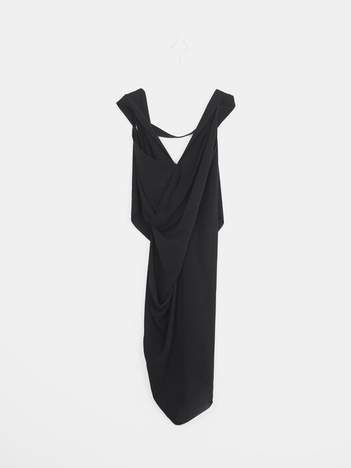 Junya Watanabe Draped Asymmetric Dress