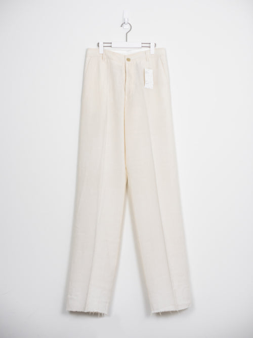 Rick Owens Wide Leg Wool Trousers