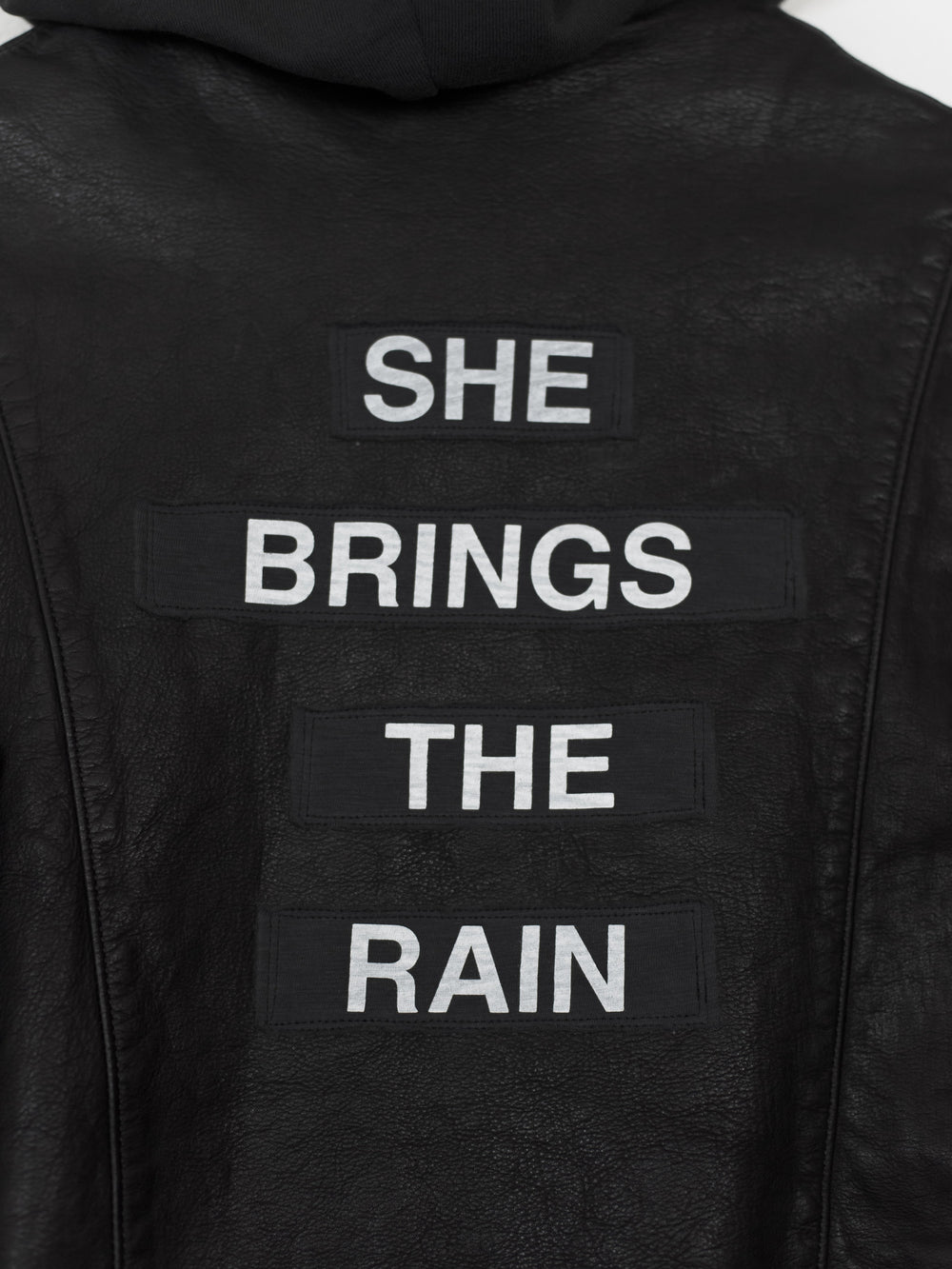 Undercover SS12 She Brings The Rain Leather Jacket