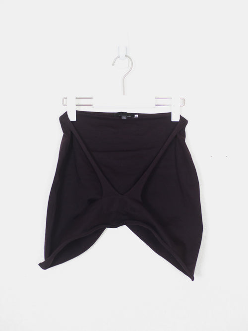 Helmut Lang SS04 Raw Strap Mini Skirt
