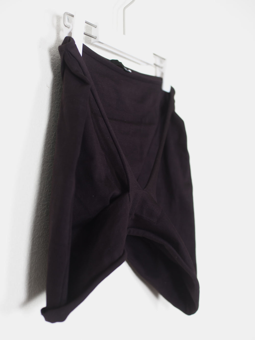 Helmut Lang SS04 Dragonfly Raw Strap Mini Skirt
