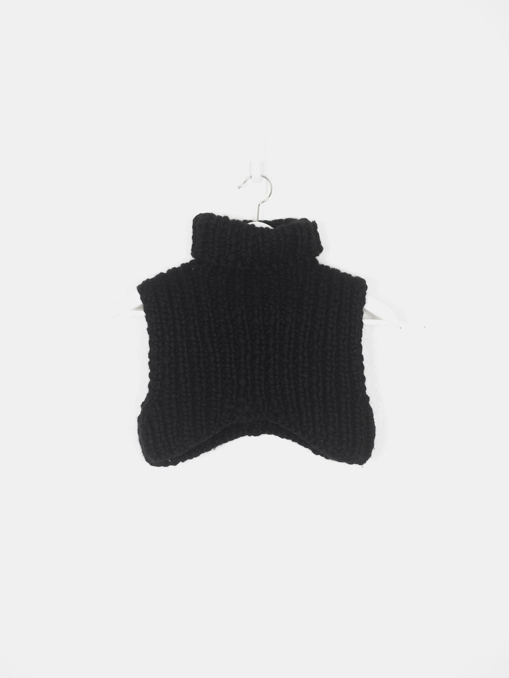 Helmut Lang AW02 Wool Knit Crop Top