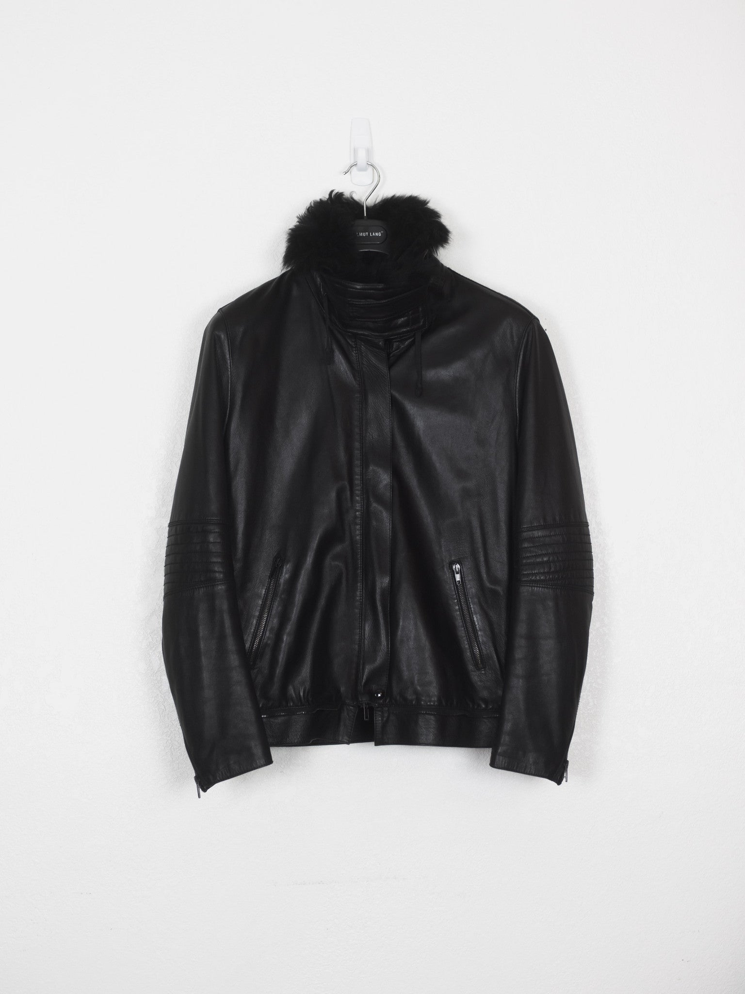 Helmut Lang Lamb Leather Astro Biker Jacket