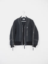 Dries Van Noten AW14 Back Zip Bomber
