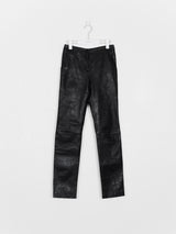 Helmut Lang 00s Lamb Leather Trousers
