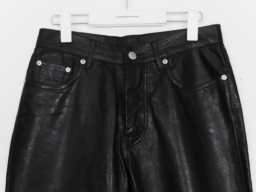 Helmut Lang 98 Lamb Leather Pants